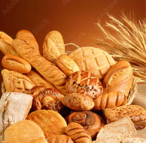 Fototapeta Variety of bread