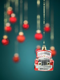 small car christmas decoration