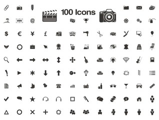 100 icons - favicon