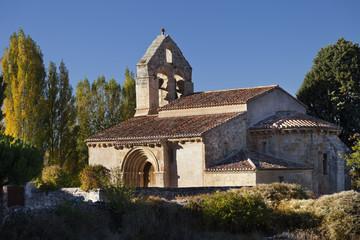 Iglesia románica de San Andrés (Gama,Palencia)