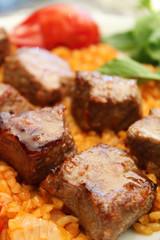 Lamb Shish meat