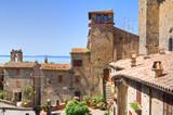 Fototapety Panoramic view of Bolsena. Lazio. Italy.