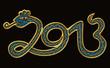 2013 - Chinesisches Jahr der Wasserschlange