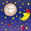 Vollmond - Mond - Nacht - Stern - Schlaflied - Esoterik