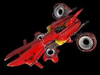 Futuristic spaceship - bullkill