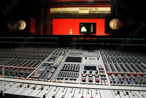 canvas print picture music studio