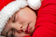 santa's son sleeping