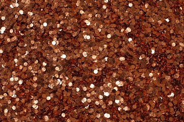pile of 1 cent coins
