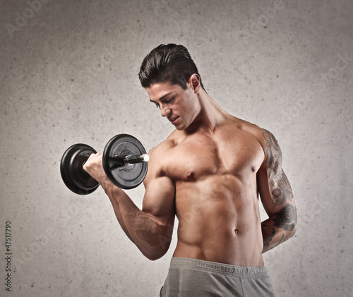 Fototapeten,arm,gewichten,sport,mann