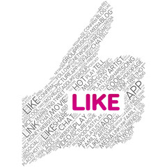 Like | Thumb Up - (Social Media / Social Network Button)