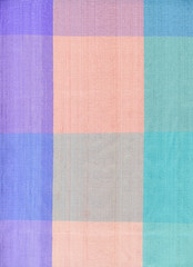 Pastel silk cloth
