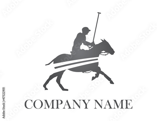 polo player logo