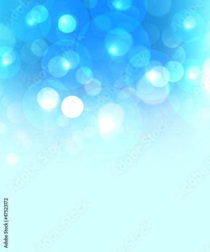 cool blue celebration background