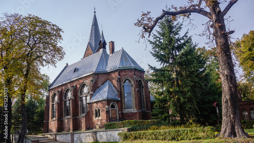 Lutheran parish church in Bytom-Miechowice, Silesia region