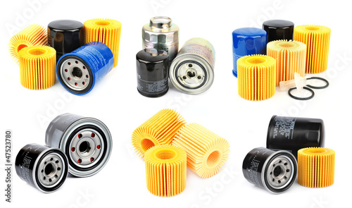 Collection oil filter