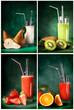 Mix di Frullati alla frutta