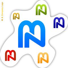 M. N. Company Logo