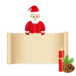 Weihnachtsgruß vom Weihnachtsmann
