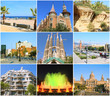 Collage- Beauty Barcelona.