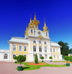 East Chapel of Petergof Palace in St. Petersburg