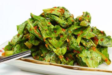Lettuce Kimchi Salad
