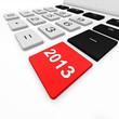 2013 jahr, geschäftsjahr, taschenrechner