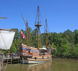 replica tall ship