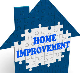 Home Improvement House Means Renovate Or Restore