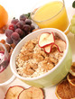 Muesli, healthy food