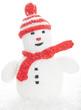 Snowman, snow