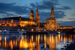 canvas print picture - Dresden