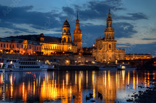 canvas print picture Dresden
