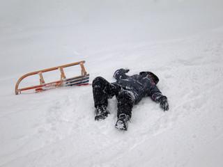 Sledding Accident (2)