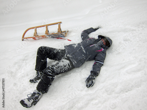 Sledding Accident (1)