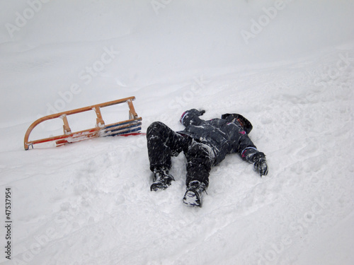 Sledding Accident (2)