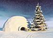 christmas iglo