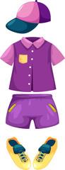 set of boy clothes