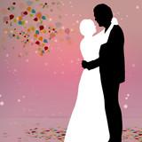 Fototapety Tanzendes Paar / Hochzeitsfeier