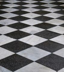 Mosaik schwarz weiß