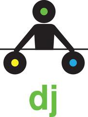 Silhouette DJ