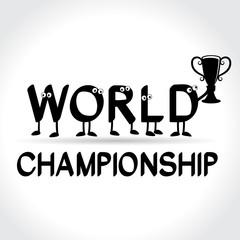 symbol of world championship
