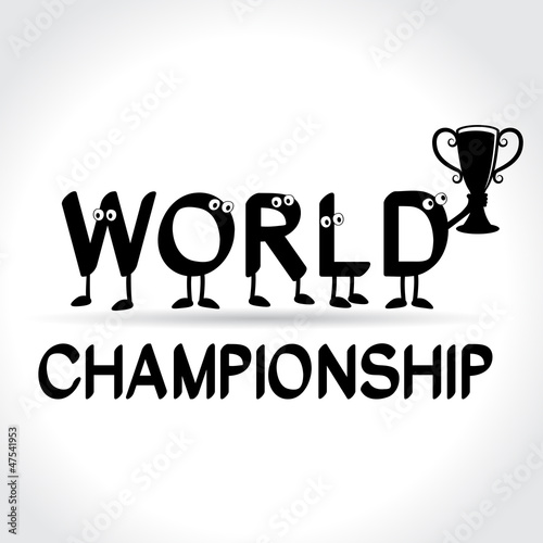 symbol of world championship