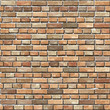 Old Red brick wall seamless Vector illustration background