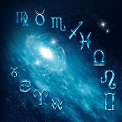 Twelve symbols of the zodiac