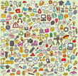 XXL Doodle Icon Set : Collecti...