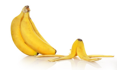 Monda de plátano.