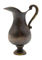 Old copper jug