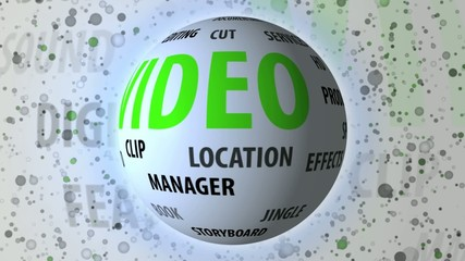 Video related keywords rotating sphere