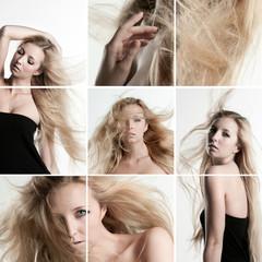 hair - collage