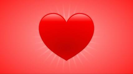 Pulsierendes Herz – Loop